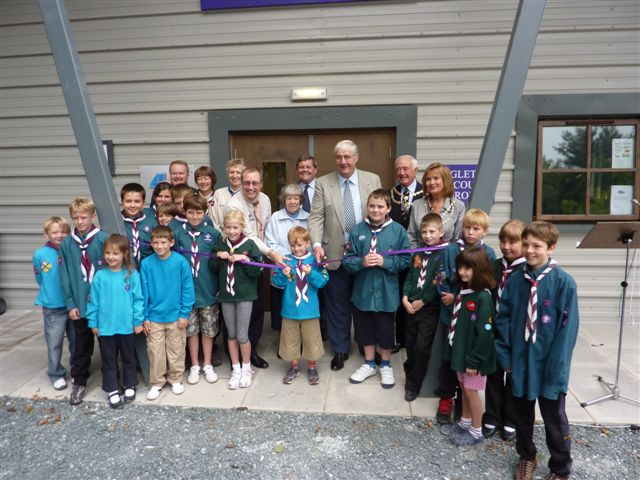 The new Scout and Community centre in Ingleton that the Trust helped to fund