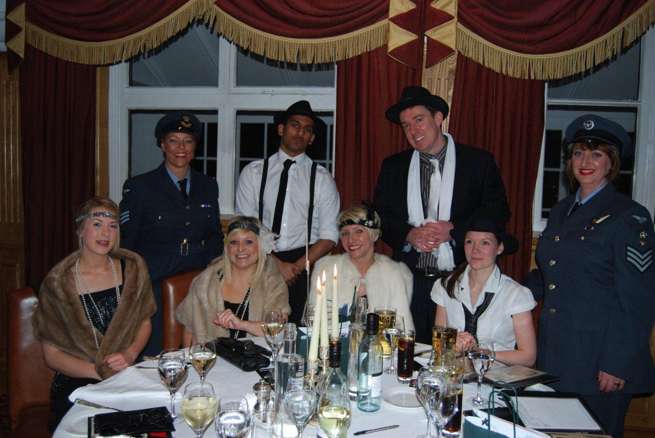 The Comply Direct team really looked the part at our 1930's Style Murder Mystery Event