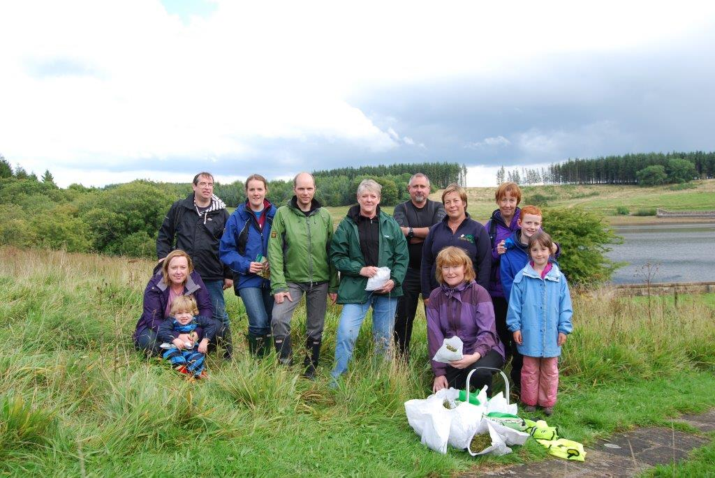 Seed Spotters: The dedicated team from Dales Holiday Cottages