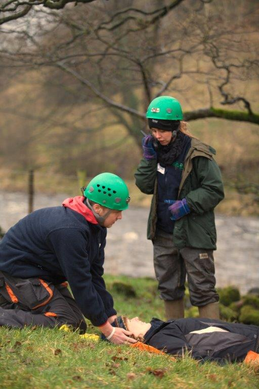 The Dales Rural Trainees 'rescue' YDMT's Jo Boulter!
