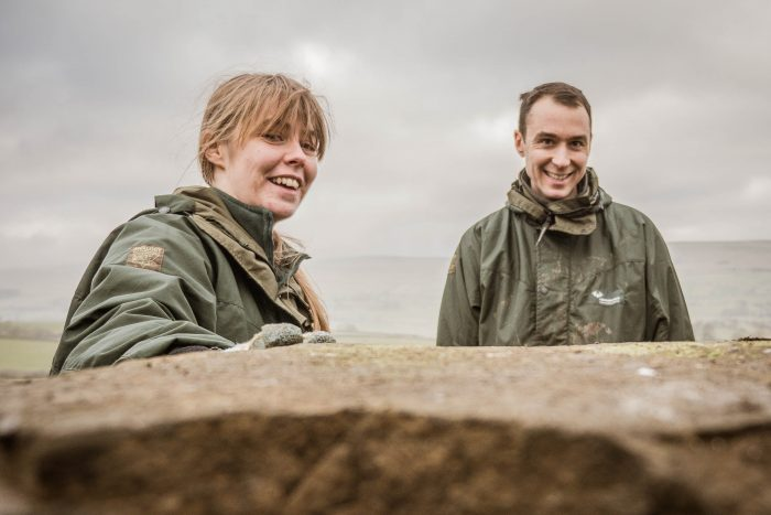 James and Suzannah Barningham as new Access Rangers for Yorkshire Dales National Park Authority